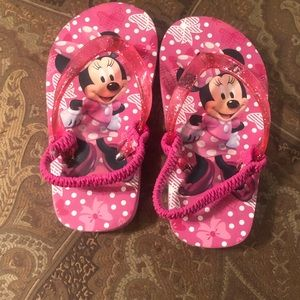 3 for $13.00 Minnie Mouse flip flop